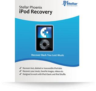 Stellar iPod Recovery software - Windows