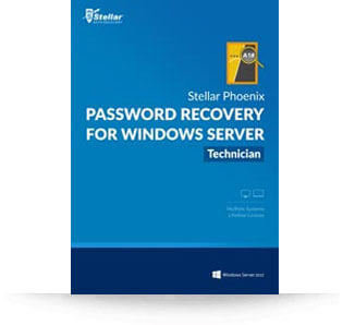 Stellar Password Recovery for Windows Server