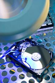 Forensische Untersuchung von einer Festplatte