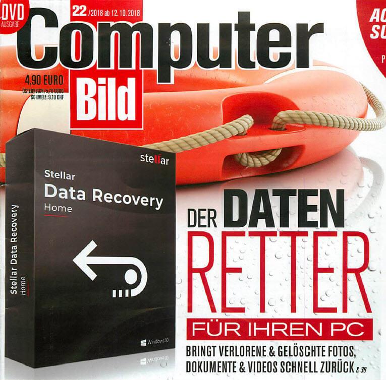 ComputerBild und Stellar Datenrettung